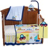 Lambs & Ivy Little Travelers 7-Piece Crib Bedding Set and Accessories