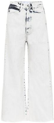 Proenza Schouler White Label Wide-leg high-rise jeans