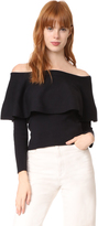 Cupcakes And Cashmere Otis Off Shoulder Sweater
