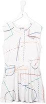 Bobo Choses striped dress - kids - Cotton - 2 yrs