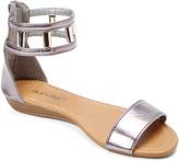 Star Bay Women's Sandals Pewter - Pewter Dual-Strap Sandal - Women