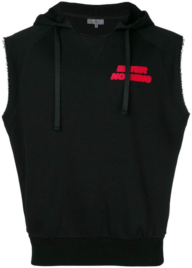 Lanvin Enter Nothing sleeveless hoodie