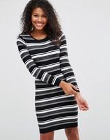 Brave Soul Striped Sweater Dress