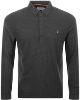 Farah Merriweather Polo T Shirt Grey