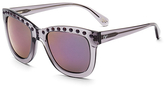 Diane von Furstenberg Haley Studded Oversized Sunglasses