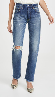 Moussy Guilford Straight Jeans