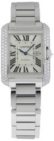 Cartier Tank Anglaise Medium wt100009 18K White Gold Watch