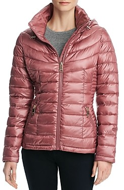 Calvin Klein Packable Short Quilted Down Coat