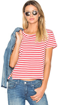 Amo Twist Tee in Red. - size XS (also in )