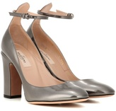 Valentino Garavani Tan-go leather pumps