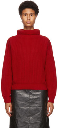 Isabel Marant Red Brooke Turtleneck