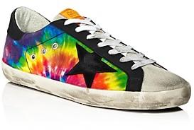 Golden Goose Unisex Superstar Tie-Dyed Rainbow Sneakers - 100% Exclusive