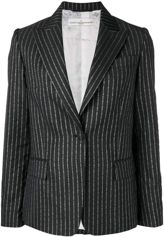 Golden Goose pinstriped blazer