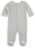 Ralph Lauren Baby's Striped Footie