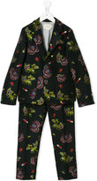 Gucci Kids animal print two piece suit