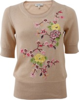 Etro Floral Embroidered Knit Pullover