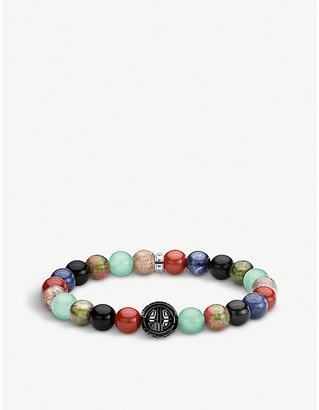 Thomas Sabo Multi-stone beaded bracelet