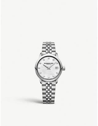 Raymond Weil 5626ST97081 Freelancer stainless steel and diamond watch