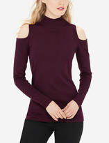 The Limited Turtleneck Cold Shoulder Sweater