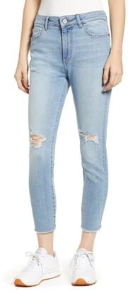 DL1961 Farrow Instaslim Ripped High Waist Crop Skinny Jeans