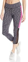 Jockey Women's Media Mix Capri Legging