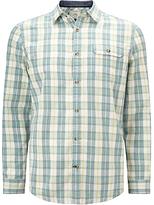 John Lewis Lincot Check Shirt, Green