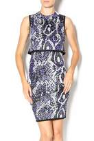 French Connection Spotlight Boa Dress