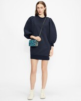 Thumbnail for your product : Ted Baker Quilted Jersey Dress