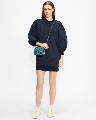 Ted Baker Quilted Jersey Dress