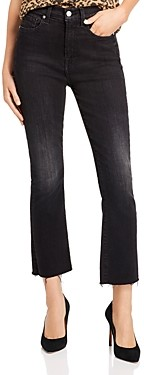 7 For All Mankind Ankle Slim Kick Jeans in Dark Ash