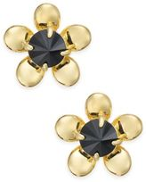 Kate Spade Sunset Blooms Gold-Tone Flower Stud Earrings
