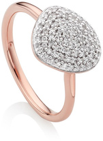Monica Vinader Nura Pebble Stacking Ring