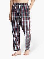 Ralph Lauren Check Cotton Sleep Trousers, Red/Multi