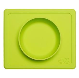 Ezpz Mini Bowl Placement and Bowl Lime