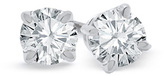 Zales 2 CT. T.W. Diamond Solitaire Stud Earrings in 18K White Gold (I/SI2)