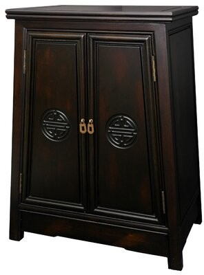 Oriental Furniture Long Life Accent Cabinet