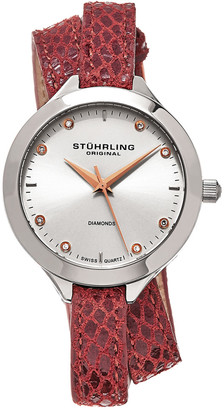 Stuhrling Original Women's Vogue Diamond Watch