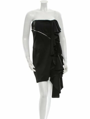 Jay Ahr Strapless Dress w/ Tags Black