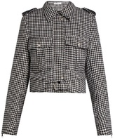 J.W.Anderson Hound's-tooth wool-blend jacket