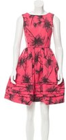 Jason Wu Floral Print A-Line Dress