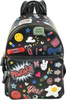 Anya Hindmarch All Over Wink Stickers mini backpack