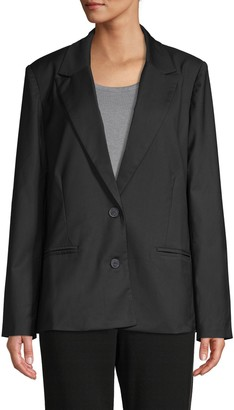 Lucca Notch-Collar Blazer