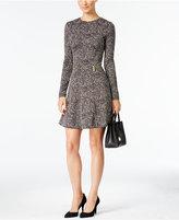 MICHAEL Michael Kors Norfolk Printed Fit & Flare Dress