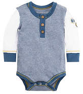 Baby Henley Patch Organic Cotton Bodysuit