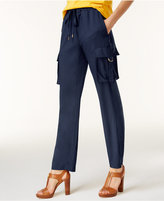 MICHAEL Michael Kors Cady Pull-On Cargo Pants
