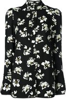 Proenza Schouler flower print shirt - women - Acetate/Viscose - 4