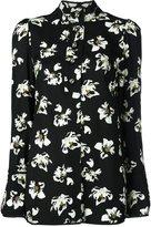 Proenza Schouler flower print shirt - women - Viscose/Acetate - 4