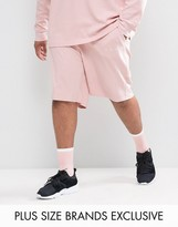 Puma Plus Waffle Shorts In Pink Exclusive To Asos