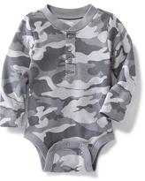 Old Navy Thermal Henley Bodysuit for Baby