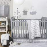 The Peanut Shell Crib Bedding Collection in Grey/White